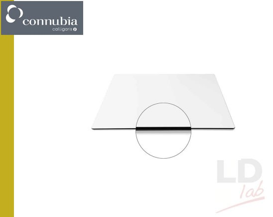 Calligaris Connubia COCKTAIL Piano tavolo contract quadrato L 70